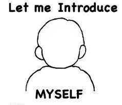 "Black and white image of outline of human body; text says ""Let me introduce myself"""