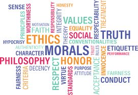 Wordle, terms all about professional ethics