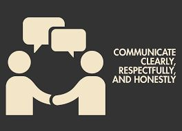 Graphic: Communicate clearly, respectfully, & honestly
