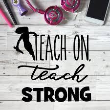 teach strong teach on